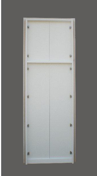 Antine per armadi a muro due ante battenti in laminato legno